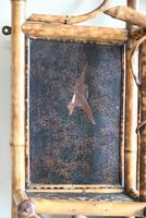 Antique Victorian Bamboo Mirror (6 of 9)