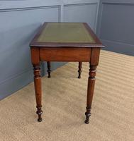 Victorian Mahogany 2 Drawer Writing Table (11 of 13)