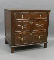 17th Century Oak Chest of Small Proportions (2 of 6)