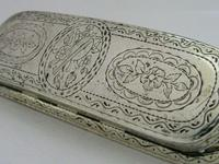 18th Century Sterling Silver Snuff Box Antique c.1780 (2 of 10)