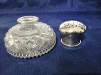 Fine Quality Silver & Cut Glass Powder Bowl (2 of 6)