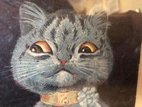 "Victorian Louis Wain Print ""The Wedding Breakfast"" Advertising Mellin's Food Biscuits (7 of 14)"