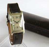 Silver Mid-size Wrist Watch, 1935 (2 of 6)