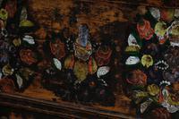 19th Century Austrian Folk Art Painted Pine Coffer (8 of 23)