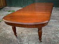 Victorian 3 Leaf Extending Dining Table Seats 10 (12 of 13)