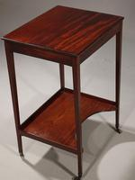 Very Good George III Period Mahogany Work or Occasional Table (4 of 6)