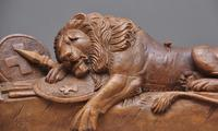 19th Century Carving of the Lion of Lucerne (4 of 9)