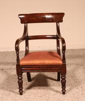 Small Child Chair from 19th Century in Mahogany- England (5 of 8)