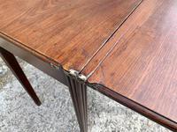 Antique Georgian Mahogany Fold Over Tea Table (23 of 27)