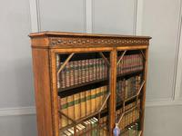 Burr Walnut Bookcase by Jas Shoolbred (14 of 19)