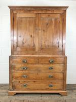 19th Century Antique Pine Housekeepers Cupboard (M-879) (10 of 13)