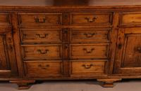 Superb Georgian Oak Serving Dresser Large (13 of 20)