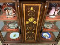 Shapland & Peter Mahogany Display Cabinet (9 of 16)