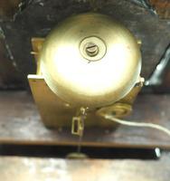 Unusual Rare 18th Century Austrian Verge Table Mantel Clock Pull Alarm (3 of 14)