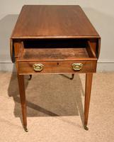 George III Mahogany Pembroke Table Drawer (5 of 6)