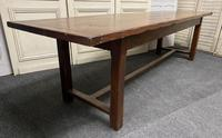 Long French Oak Farmhouse Dining Table (9 of 17)