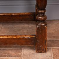Carved Oak Joint Stool (15 of 15)