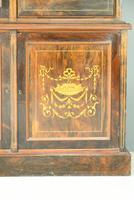 Edwardian Inlaid Rosewood Bookcase (5 of 12)