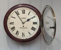 Mahogany Fusee Dial Clock (9 of 19)