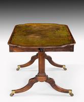 Unusual Regency Period Library Table (3 of 4)
