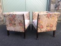 Pair of Antique English Upholstered Chairs (9 of 12)