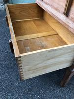 Antique Limed Oak Heals Chest of Drawers (10 of 10)