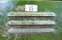 Vintage Industrial 15 Door Metal Workshop Cabinet Locker c.1930 (5 of 14)