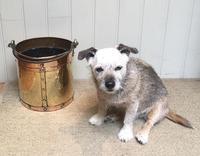 Late 19th Century Brass & Copper Bucket (9 of 9)