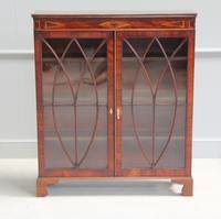 19th Century Mahogany Glazed Display Cabinet (7 of 7)