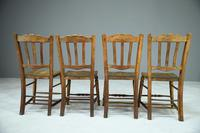 Set of 4 Rustic Kitchen Chairs (7 of 7)