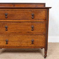 Oak Chest of Drawers Arts & Crafts (5 of 13)