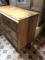 Antique Pine Two Over Two Chest of Drawers (10 of 10)