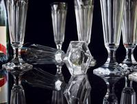 8 Val 8 Saint Lambert Champagne Flutes hexagonal foot (4 of 5)