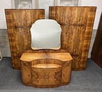 Burr Walnut Art Deco Double Wardrobe (11 of 12)