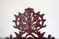 19th Century Scottish Vernacular 'folk Art' Thistle Fretwork Spoon & Candle Box (33 of 36)