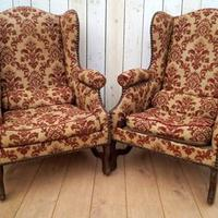 Pair of Chairs for re-upholstery (2 of 12)