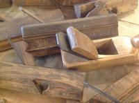 13 Various Beech Wood French Vintage Antique Wood working routing planes (2 of 6)