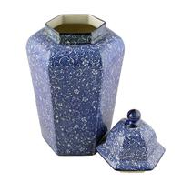 Pair of Chinese Style Vases & Lids (4 of 8)