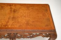 Antique Burr Walnut Queen  Anne Style Coffee Table (6 of 10)