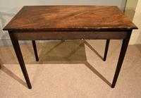 George III Mahogany Side / Dressing Table (6 of 9)