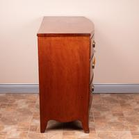 19th Century Mahogany Bow Fronted Chest of Drawers (13 of 15)