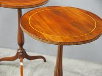 Pair of Sheraton Revival Occasional Tables (5 of 6)