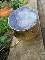 Large 18th Century Brass Pouring Jug (6 of 9)