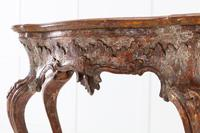 18th Century Italian Silver Gilt Console Table (5 of 9)