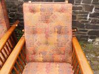 Pair of Arts & Crafts Reclining Chairs (11 of 12)