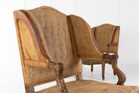Pair of 19th Century French Oak Armchairs (7 of 9)