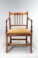 Set of Eight George III Period Dining Chairs 'Six Side Chairs plus Two Armchairs' (8 of 9)