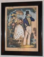 Three Romantic Regency Tinsel Prints (5 of 7)