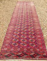 Rare Antique Tekke Turkman Carpet Runner (2 of 6)