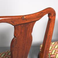 Antique Pair of George II Mahogany Side Chairs (6 of 10)